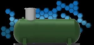 Заправка газом газгольдера